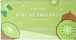 Düfte, Parfümerie und Kosmetik Lidschattenpalette - Moira Kiwi Be Friends? Pressed Pigments Palette