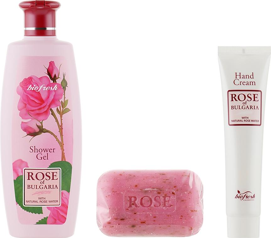 Geschenkset - BioFresh Rose of Bulgaria (Duschgel 330ml + Seife 100g + Handcreme 75ml) — Bild N1