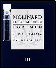 Düfte, Parfümerie und Kosmetik Molinard Homme III Molinard - Eau de Toilette (Probe)