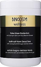 Düfte, Parfümerie und Kosmetik Badesalz aus dem Toten Meer mit Coenzym Q10 und Goji-Beeren Extrakt - BingoSpa Salt For Bath SPA of Dead Sea