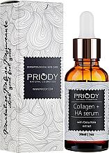 Düfte, Parfümerie und Kosmetik Anti-Aging Kollagen-Gesichtsserum mit Gotu Kola-Extrakt - Priody Anti-Aging Collagen Serum
