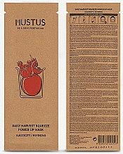 Feuchtigkeitsspendende Gesichtsmaske mit Tomaten-, Apfel-, Erdbeer-, Kirsch- und Granatapfelextrakte - Mustus Daily Harvest Squeeze Power Up Mask — Bild N2