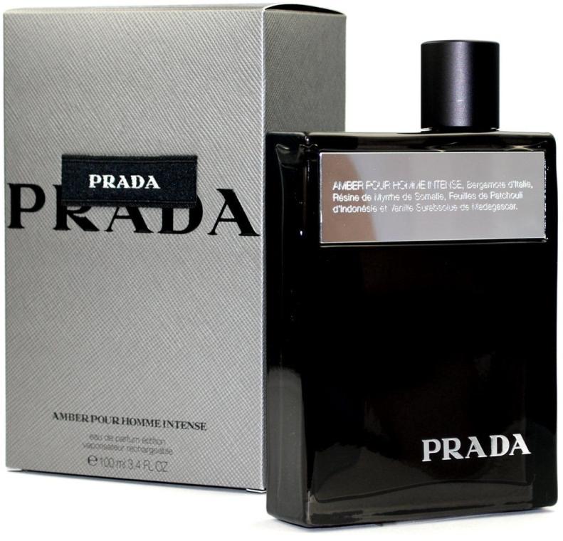Prada Amber Pour Homme Intense - Eau de Parfum — Bild N1