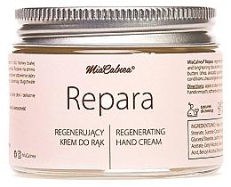 Düfte, Parfümerie und Kosmetik Revitalisierende Handcreme mit weißem Maulbeerextrakt und Urea - MiaCalnea Regenerating Hand Cream