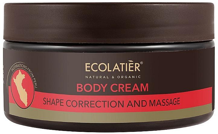 Massage-Körpercreme zum Abnehmen - Ecolatier