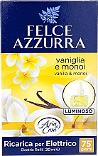 Düfte, Parfümerie und Kosmetik Elektrische Diffusor Vanilla & Monoi Oil - Felce Azzurra Vanilla & Monoi Oil (Refill)