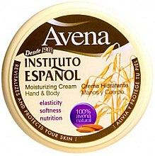Düfte, Parfümerie und Kosmetik Feuchtigkeitsspendende Hand- und Körpercreme - Instituto Espanol Avena Moisturizing Cream Hand And Body