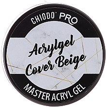 Düfte, Parfümerie und Kosmetik UV/LED Aufbaugel Cover Beige - Chiodo Pro Acryl Gel Cover Beige