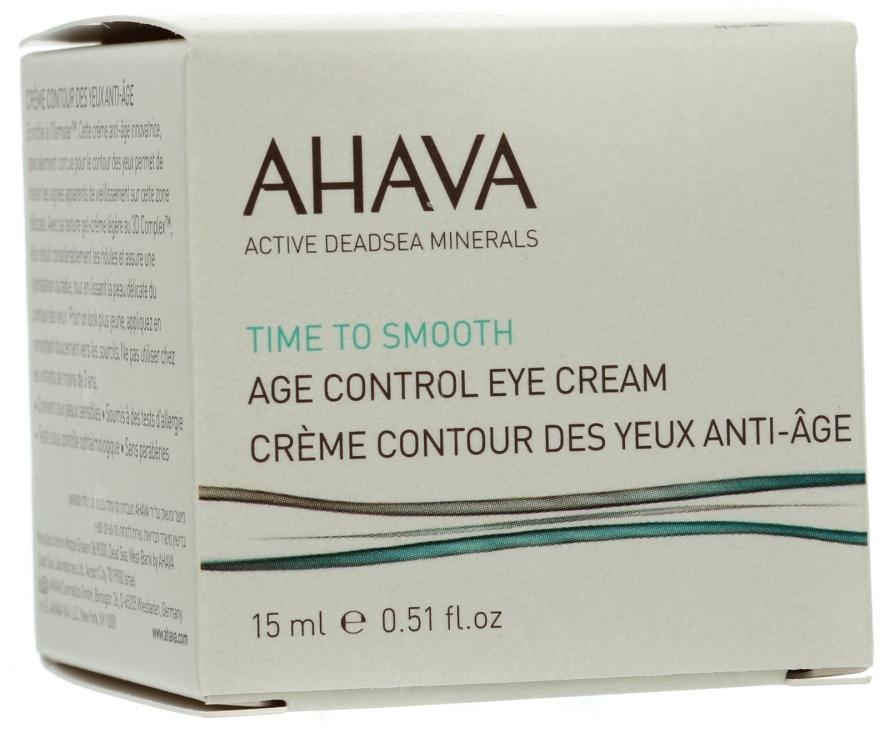 Anti-Aging Augenkonturcreme - Ahava Age Control Eye Cream — Bild N1