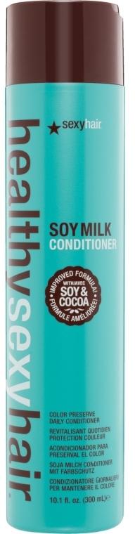 Farbschutz-Conditioner mit Sojamilch - SexyHair HealthySexyHair SoyMilk Conditioner — Bild N1