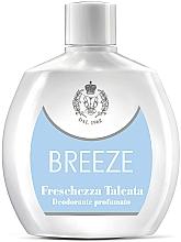 Düfte, Parfümerie und Kosmetik Breeze Freschezza Talcata - Parfümiertes Deospray