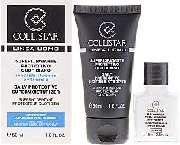 Set - Collistar Daily Protective Supermoisturizer (cr/50ml + cr/15ml) — Bild N1