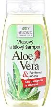 Düfte, Parfümerie und Kosmetik Shampoo & Duschgel - Bione Cosmetics Aloe Vera Hair And Body Shampoo