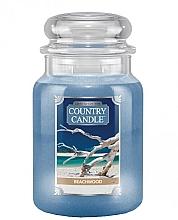 Düfte, Parfümerie und Kosmetik Duftkerze im Glas Beachwood - Country Candle Beachwood