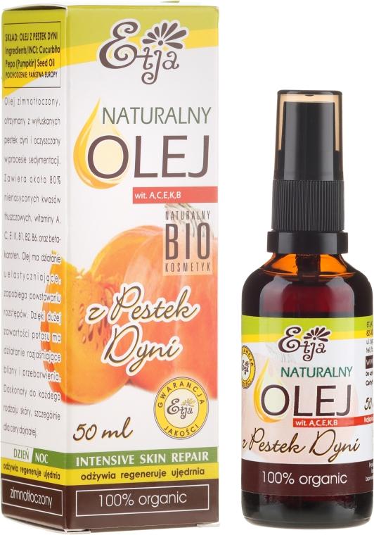 100% Natürliches Kürbiskernöl - Etja Natural Oil