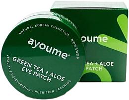 Düfte, Parfümerie und Kosmetik Augenpatches mit grünem Tee und Aloe Vera - Ayoume Green Tea + Aloe Eye Patch