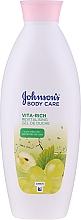 Düfte, Parfümerie und Kosmetik Pflegendes Duschgel mit Trauben - Johnson's Body Care Vita-Rich Revitalising Shower Gel