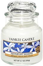 Düfte, Parfümerie und Kosmetik Duftkerze im Glas Midnight Jasmine - Yankee Candle Midnight Jasmine Jar