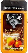 Düfte, Parfümerie und Kosmetik Feuchtigkeitsspendendes Duschgel mit Orangen und Arganöl - Le Petit Marseillais Men Body and Hair