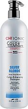 Düfte, Parfümerie und Kosmetik Shampoo mit Farbpigmenten gegen Gelbstich - CHI Ionic Color Illuminate Shampoo Silver Blonde
