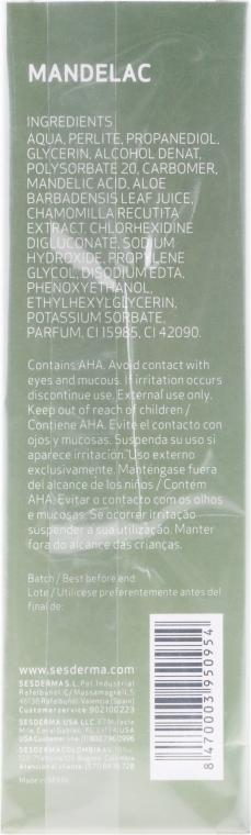 Anti-Aging Peeling für Körper und Gesicht mit Mandelsäure - SesDerma Laboratories Mandelac Scrub Face And Body — Bild N2