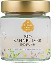 Düfte, Parfümerie und Kosmetik Bio-Zahnpulver mit Ingwer - Eliah Sahil
