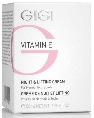 Liftingcreme für die Nacht mit Vitamin E - Gigi Vitamin E Night & Lifting Cream — Bild N1