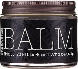 Aufweichender Bartbalsam mit Vanilleduft - 18.21 Man Made Beard Balm Spiced Vanilla — Bild N1