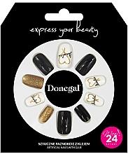 Düfte, Parfümerie und Kosmetik Set Künstliche Nägel mit Kleber 3056 - Donegal Express Your Beauty