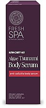 Düfte, Parfümerie und Kosmetik Anti-Cellulite Körperserum mit Algenextrakt - Natura Siberica Fresh Spa Kam-Chat-Ka Algae Tsunami Body Serum