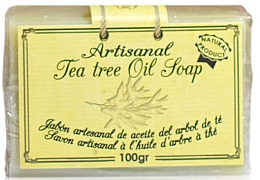 Düfte, Parfümerie und Kosmetik 100% Natürliche Seife mit Teebaumöl - Arganour Natural Soap with Tea Tree Oil