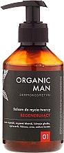 Düfte, Parfümerie und Kosmetik Regenerierendes Gesichtsreinigungsbalsam - Organic Life Dermocosmetics Man