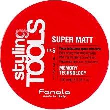 Düfte, Parfümerie und Kosmetik Modellierende Haarpaste mit Matt-Effekt Extra starker Halt - Fanola Tools Super Matt Paste