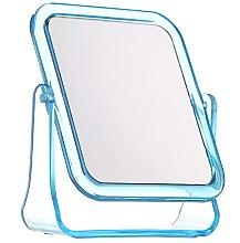 Düfte, Parfümerie und Kosmetik Kosmetischer Standpiegel 5282 quadratisch blau - Top Choice