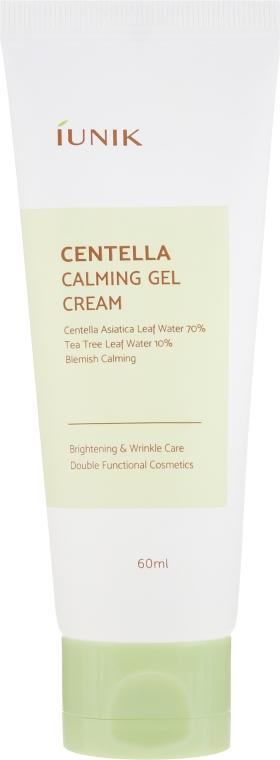 Beruhigende Gelcreme für das Gesicht mit Centella - IUNIK Centella Calming Gel Cream