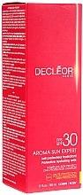 Düfte, Parfümerie und Kosmetik Sonnenschutzmilch mit Tahiti-Vanille und Rosenöl SPF 30 - Decleor Aroma Sun Expert Protective Hydrating Milk SPF30