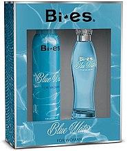 Düfte, Parfümerie und Kosmetik Bi-Es Blue Water - Duftset (Eau de Parfum/100ml +Deodorant/150ml)