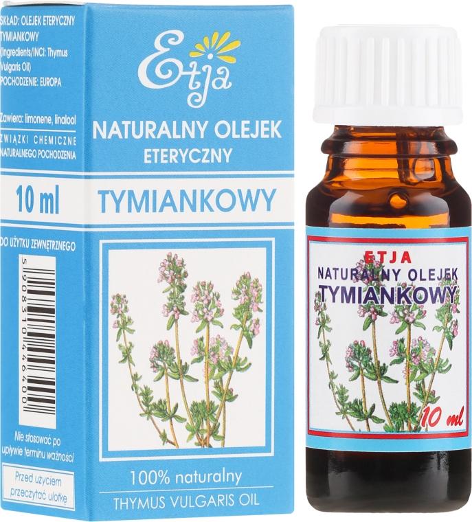 100% Natürliches ätherisches Thymianöl - Etja Natural Essential Oil