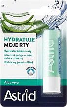 Düfte, Parfümerie und Kosmetik Lippenbalsam - Astrid Moisturizing Lip Balm With Aloe Vera