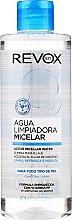 Düfte, Parfümerie und Kosmetik Feuchtigkeitsspendendes und erfrischendes Mizellen-Reinigungswasser - Revox Aqua Limpiadora Micellar