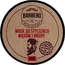 Düfte, Parfümerie und Kosmetik Bart- und Schnurrbartwachs - Barbero Beard Care Wax