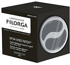 Düfte, Parfümerie und Kosmetik Entspannende Augenpatches gegen Falten, dunkle Augenringe und Tränensäcke - Filorga Optim-Eyes Patches
