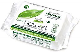 Düfte, Parfümerie und Kosmetik Feuchttücher mit grünem Tee und Aloe Vera-Extrakt 20 St. - Winni's Naturel Wipes