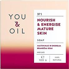 Düfte, Parfümerie und Kosmetik Nährende und energiespendende Seife für reife Haut - You & Oil Nourish & Energise Mature Skin