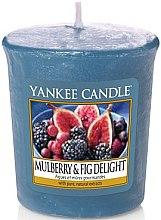 Düfte, Parfümerie und Kosmetik Votivkerze Mulberry & Fig Delight - Yankee Candle Mulberry & Fig Delight Sampler Votive