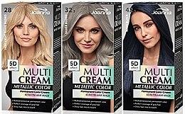 Düfte, Parfümerie und Kosmetik Haarfarbe - Joanna Multi Cream Color Metallic