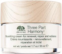 Düfte, Parfümerie und Kosmetik Nährende Gesichtscreme mit Strauß-Narzisse - Origins Three Part Harmony Nourishing Cream