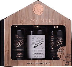 Düfte, Parfümerie und Kosmetik Körperpflegeset - Baylis & Harding Men's Fuzzy Duck Ginger & Lime Lixury Grooming Gift Set (After Shave Balsam 300ml + Shampoo 300ml + Duschgel 300ml)