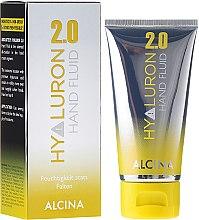 Düfte, Parfümerie und Kosmetik Feuchtigkeitsspendendes Handfluid mit Hyaluronsäure - Alcina Hyaluron 2.0