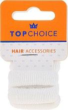 Düfte, Parfümerie und Kosmetik Haargummis weiß 6 St. 22609 - Top Choice